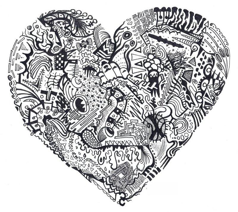 Herz Ausmalbilder Für Erwachsene Kostenlos Zum Ausdrucken 5