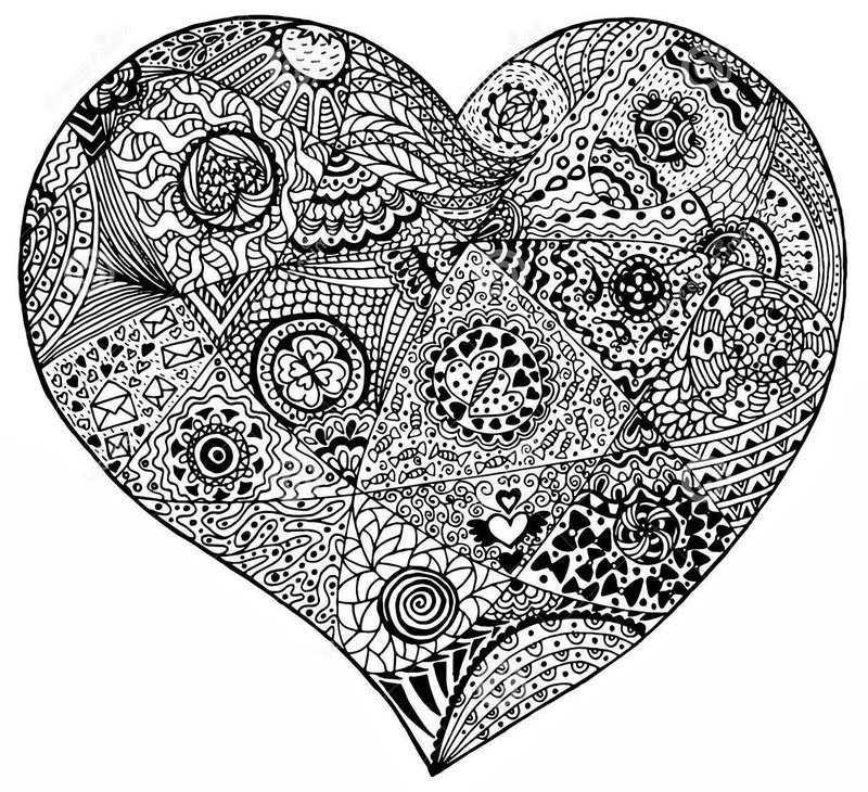Herz Ausmalbilder Für Erwachsene Kostenlos Zum Ausdrucken 6