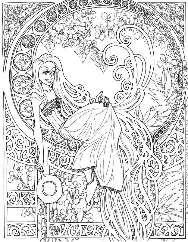 mouse people coloring pages - photo#30