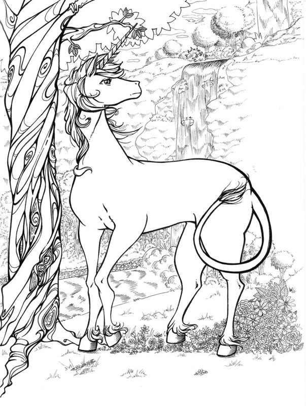 Fantasy Ausmalbilder für Erwachsene kostenlos zum Ausdrucken 6