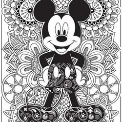 Disney Ausmalbilder Für Erwachsene Kostenlos Zum Ausdrucken