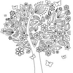 Pflanzen Ausmalbilder Für Erwachsene Kostenlos Zum Ausdrucken