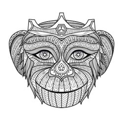 africa coloring pages for adults 5