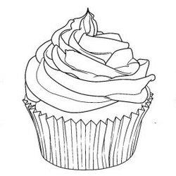 Cupcake Ausmalbilder Für Erwachsene Kostenlos Zum Ausdrucken