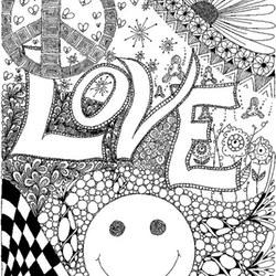 Soy Luna Ausmalbilder Zum Ausdrucken Kostenlos >> Liebe Ausmalbilder für Erwachsene kostenlos zum Ausdrucken