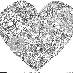 Valentinstag Ausmalbilder F 252 R Erwachsene Kostenlos Zum