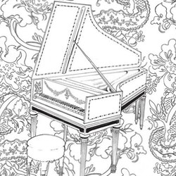 music coloring pages for adults 1