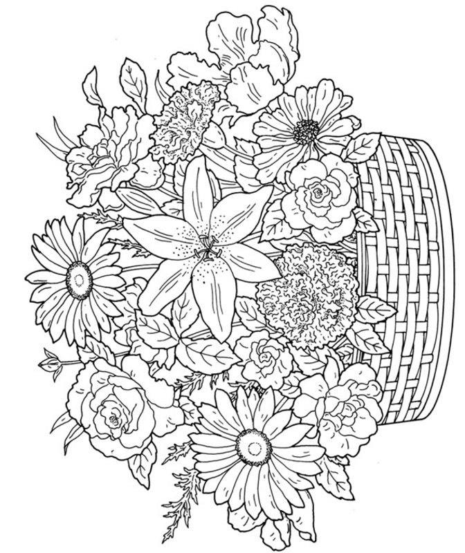 Pflanzen Ausmalbilder Für Erwachsene Kostenlos Zum Ausdrucken 8