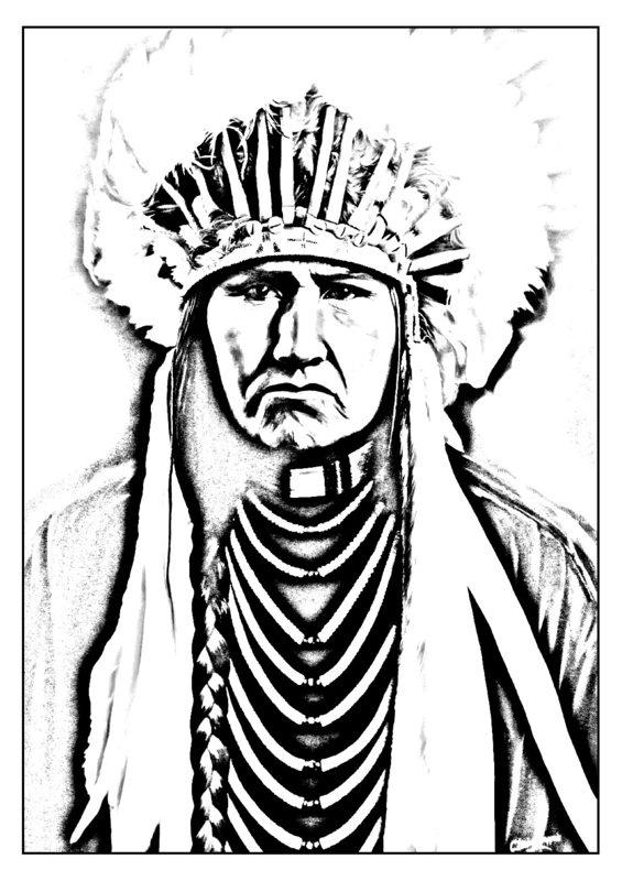 indianer ausmalbilder für erwachsene kostenlos zum