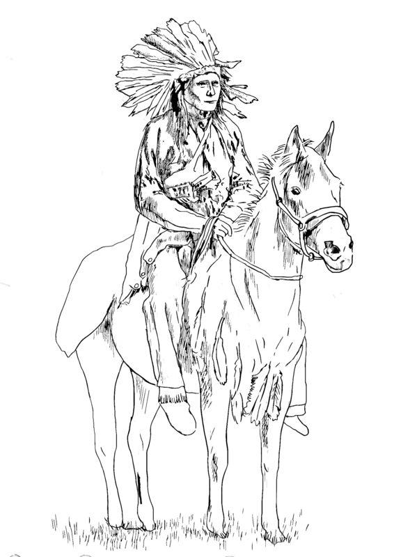 Malvorlagen Indianerpferd Coloring And Malvorlagan