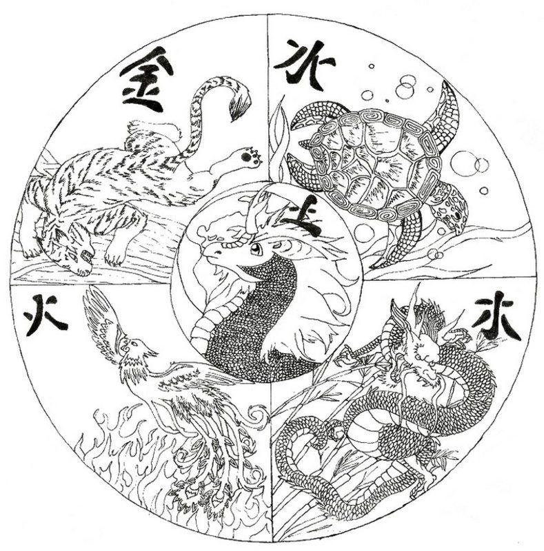 Asien china ausmalbilder f r erwachsene kostenlos zum - Mandala paysage ...