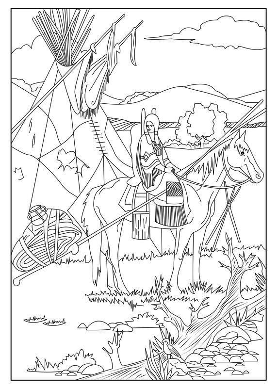 Indianer ausmalbilder fr erwachsene kostenlos zum ausdrucken 2 indianer ausmalbilder zum ausdrucken 12 altavistaventures Images