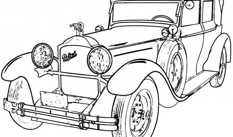 Autos Ausmalbilder Für Erwachsene Kostenlos Zum Ausdrucken 1