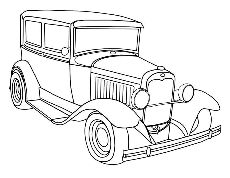 autos ausmalbilder für erwachsene kostenlos zum ausdrucken 3