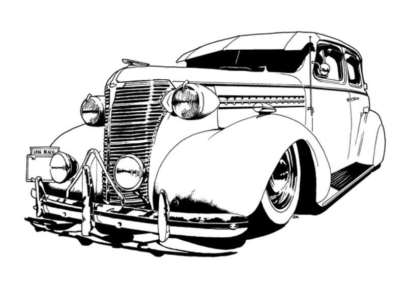 autos ausmalbilder für erwachsene kostenlos zum ausdrucken 5