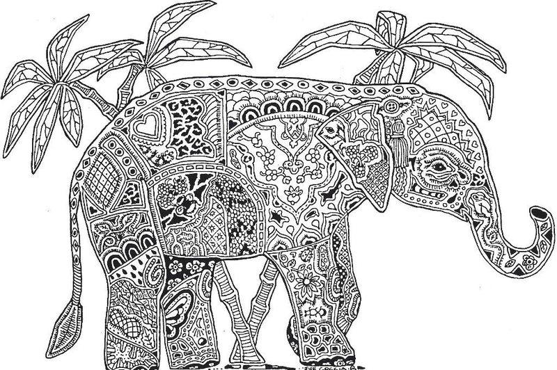 Erfreut Komplizierte Malvorlagen Von Tieren Ideen - Ideen färben ...
