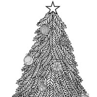 holidays events coloring pages for adults 3