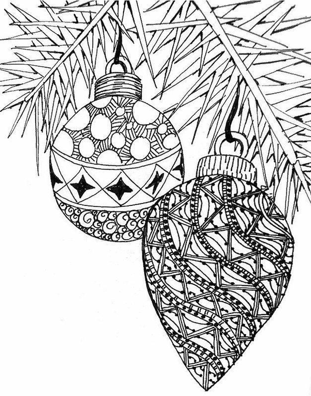 Weihnachten Ausmalbilder Für Erwachsene Kostenlos Zum Ausdrucken 1