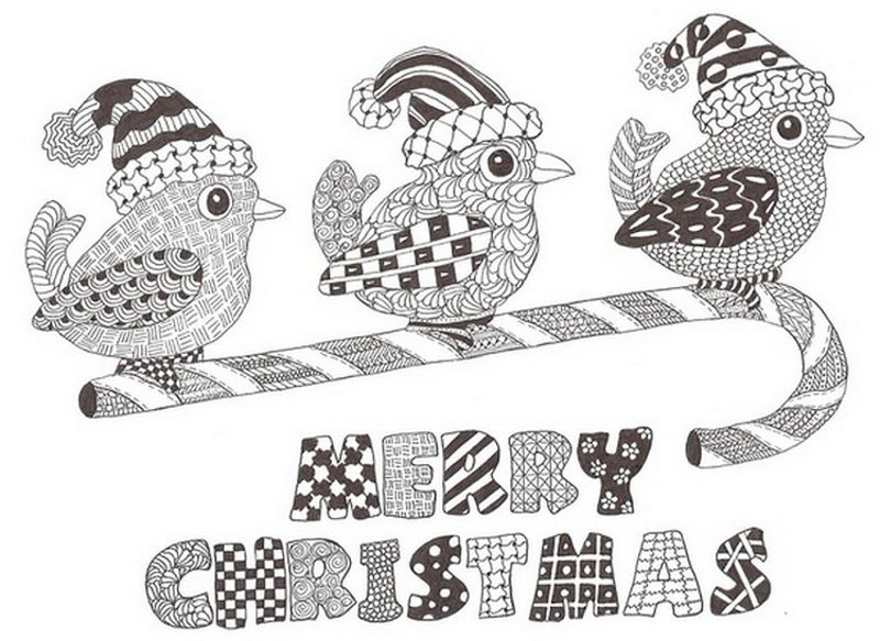 Ausmalbilder Weihnachten Ausdrucken.Weihnachten Ausmalbilder Für Erwachsene Kostenlos Zum Ausdrucken 2