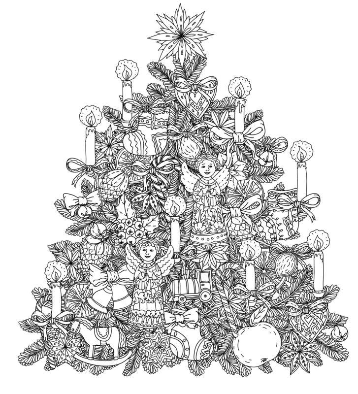 Weihnachten Ausmalbilder Für Erwachsene Kostenlos Zum Ausdrucken 3