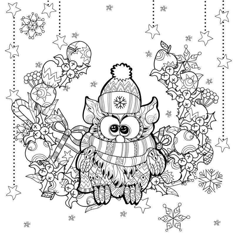 weihnachten ausmalbilder für erwachsene kostenlos zum