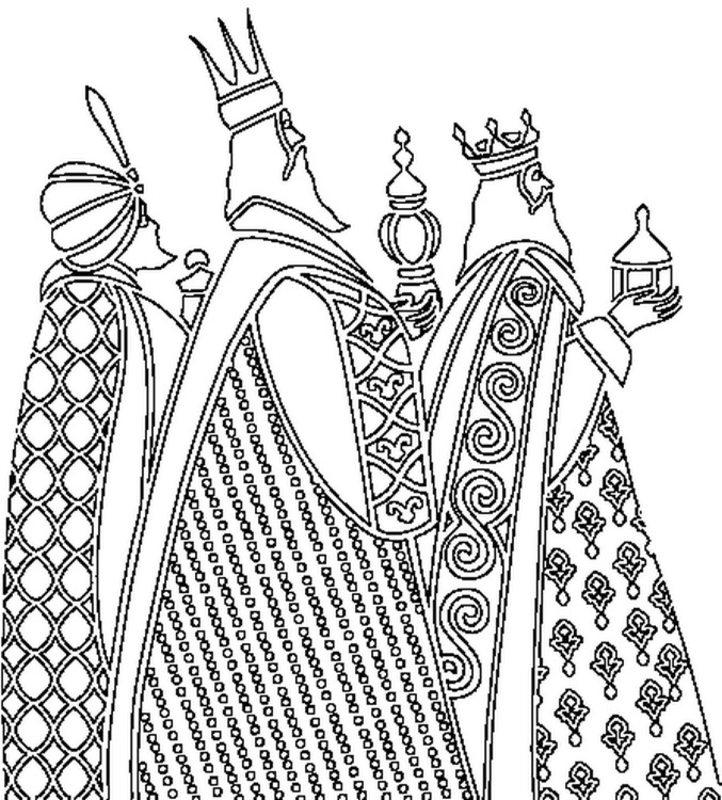 Heilige Drei K 246 Nige Ausmalbilder F 252 R Erwachsene Kostenlos