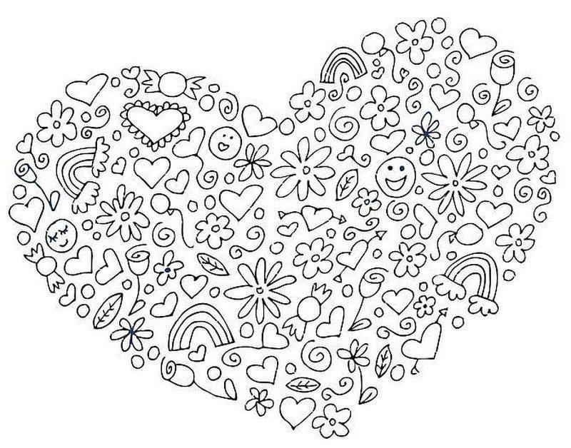 Mandalas De Animales Para Pintar Abstracto Pintar Tattoo: Valentinstag Ausmalbilder Für Erwachsene Kostenlos Zum