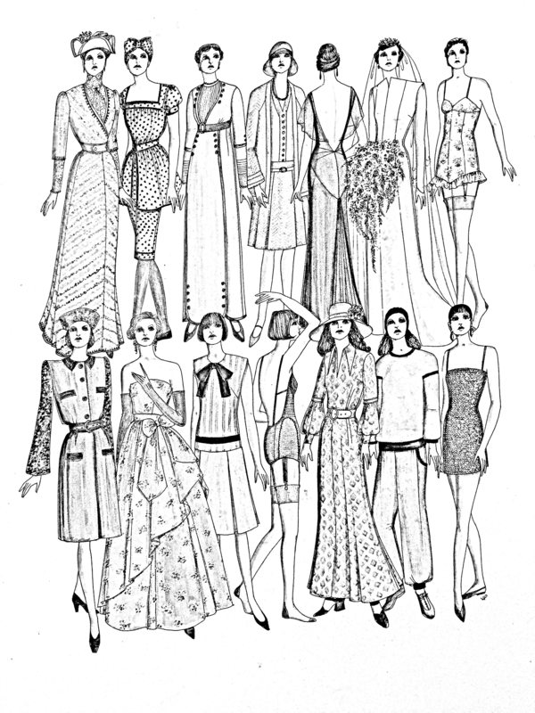 Niedlich Modedesigner Malvorlagen Ideen - Ideen färben - blsbooks.com