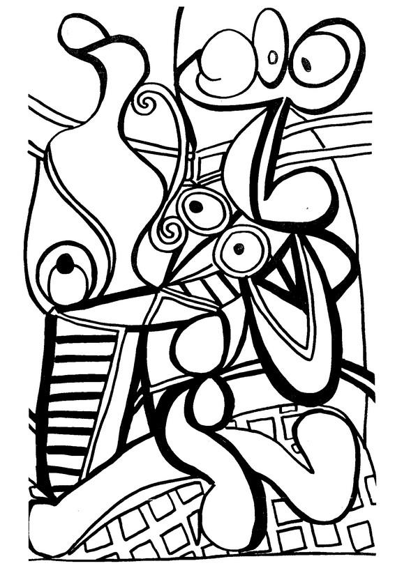 Beste Malvorlagen Pablo Picasso Fotos - Ideen färben - blsbooks.com
