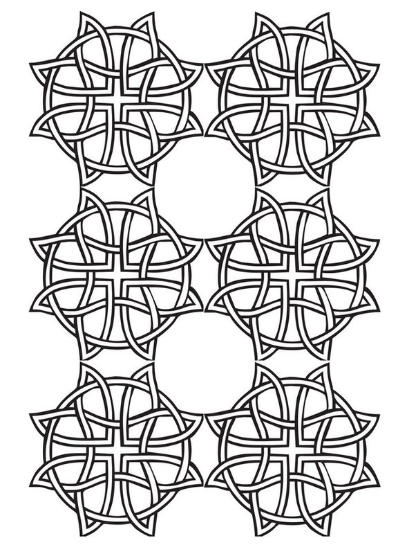 geometrische muster ausmalbilder für erwachsene kostenlos