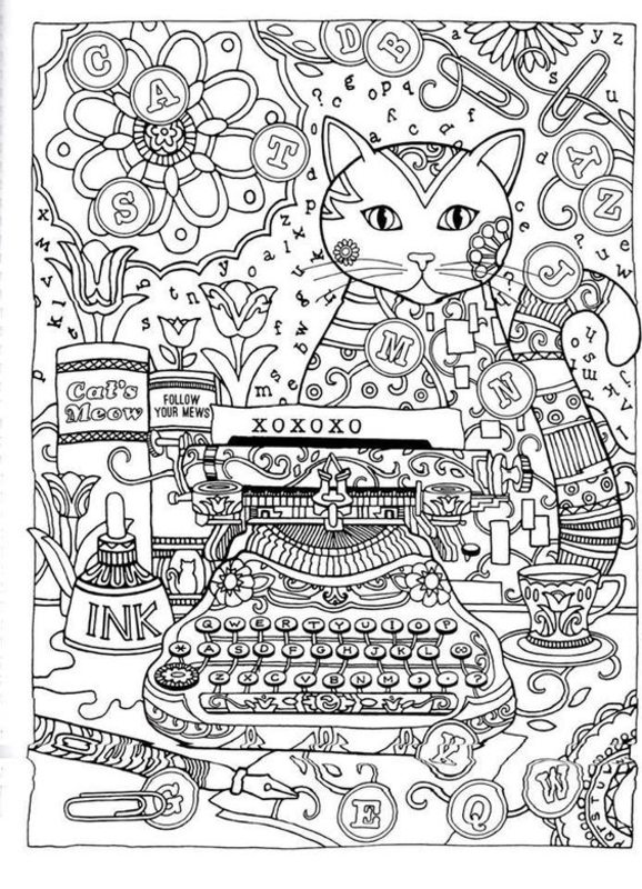Fantasy Coloring Books For Adults