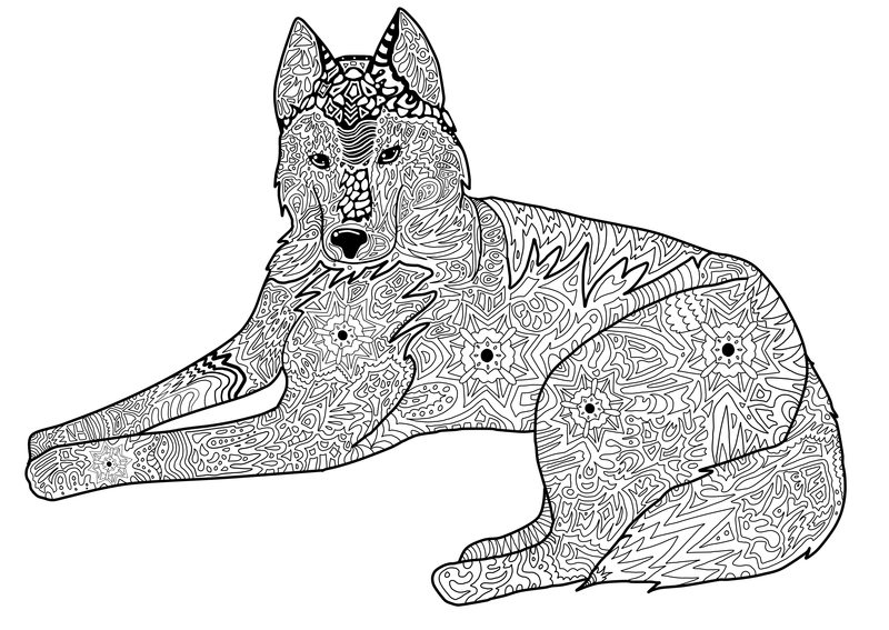 pupcake the dog coloring pages - photo#33