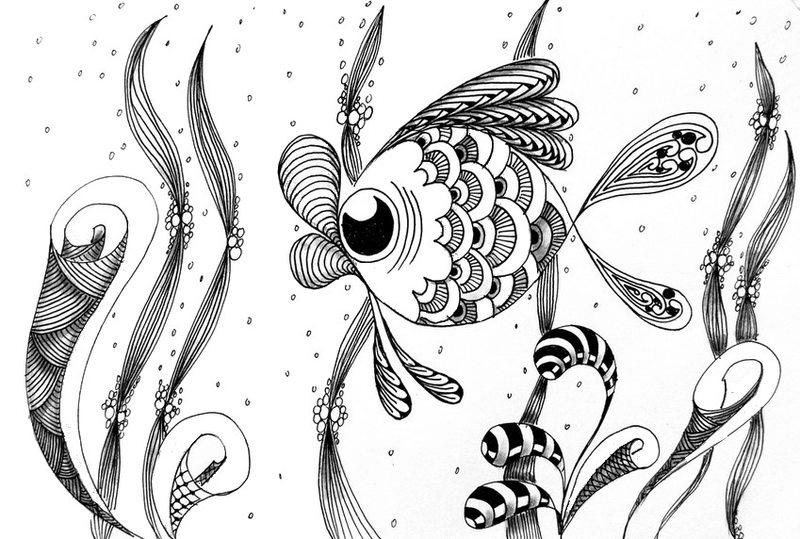 fische ausmalbilder für erwachsene kostenlos zum